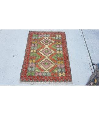 KELIMSHOP kelim kleed 120x 87 cm vloerkleed tapijt kelims hand geweven