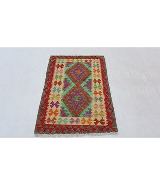 KELIMSHOP kelim kleed 116x 81 cm vloerkleed tapijt kelims hand geweven
