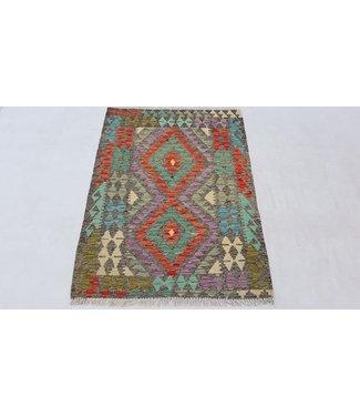 KELIMSHOP kelim kleed 125x 90 cm vloerkleed tapijt kelims hand geweven