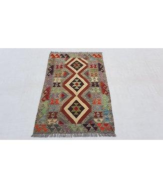 KELIMSHOP kelim kleed 122x 78cm vloerkleed tapijt kelims hand geweven