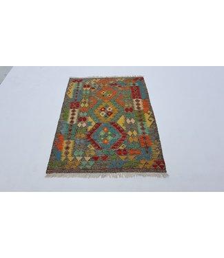 KELIMSHOP kelim kleed 120x89cm vloerkleed tapijt kelims hand geweven