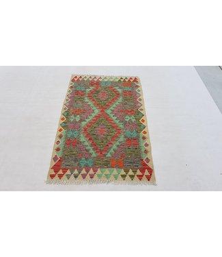 KELIMSHOP kelim kleed 134x85cm vloerkleed tapijt kelims hand geweven