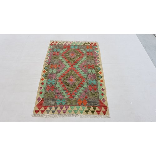 kelim kleed 134x85cm vloerkleed tapijt kelims hand geweven