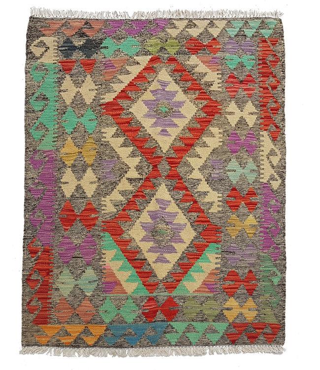 kelim kleed 121x89cmvloerkleed tapijt kelims hand geweven