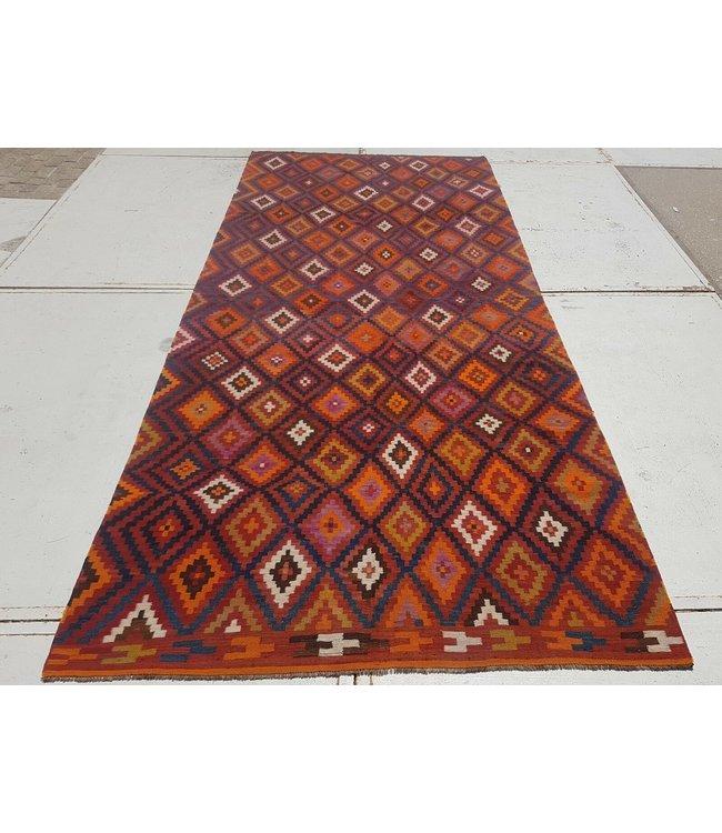 kelim kleed    426x188 cm vloerkleed tapijt kelims hand geweven