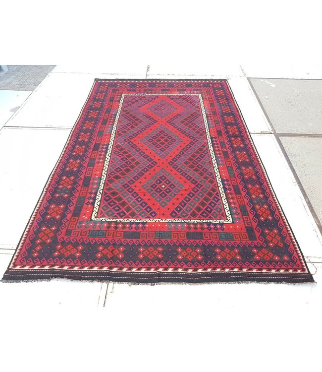 kelim kleed 402 x 261 cmvloerkleed tapijt kelims hand geweven