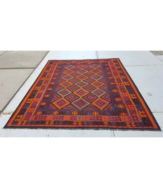 KELIMSHOP kelim kleed 303 x 249 cm vloerkleed tapijt kelims hand geweven