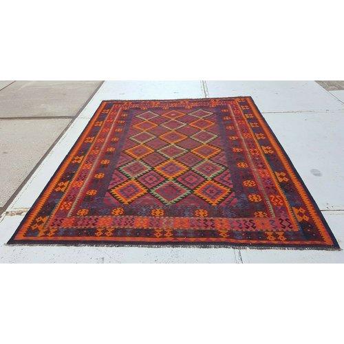 kelim kleed 303 x 249 cm vloerkleed tapijt kelims hand geweven