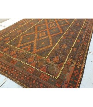 KELIMSHOP kelim kleed  507 x 266 cm vloerkleed tapijt kelims hand geweven