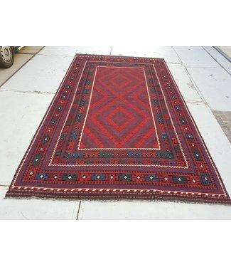 KELIMSHOP kelim kleed  433x 244 cm vloerkleed tapijt kelims hand geweven