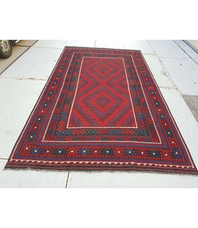 kelim kleed    433x 244 cm vloerkleed tapijt kelims hand geweven