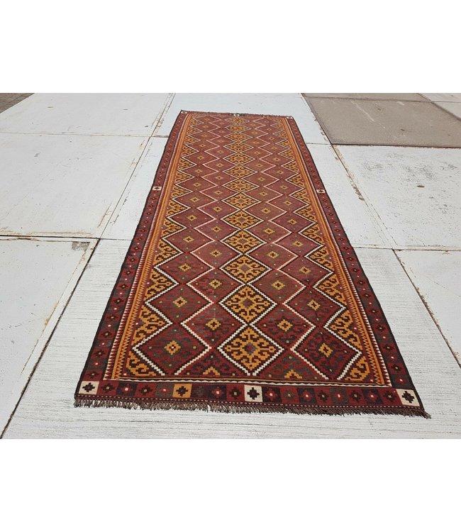kelim kleed    417 x 150 cmvloerkleed tapijt kelims hand geweven