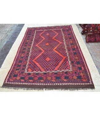 KELIMSHOP kelim kleed  348 x 218 cm vloerkleed tapijt kelims hand geweven