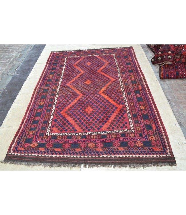 kelim kleed    348 x 218 cm vloerkleed tapijt kelims hand geweven