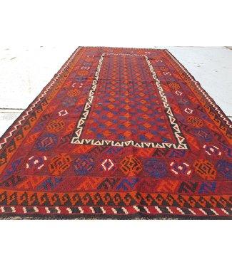 KELIMSHOP kelim kleed  238 x 119 cm vloerkleed tapijt kelims hand geweven