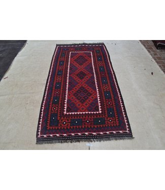 kelim kleed  217 x 108 cm vloerkleed tapijt kelims hand geweven