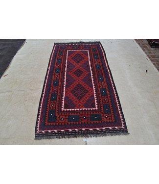 KELIMSHOP kelim kleed  217 x 108 cm vloerkleed tapijt kelims hand geweven