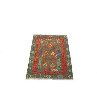 KELIMSHOP kelim kleed 200x156cm vloerkleed tapijt kelims hand geweven