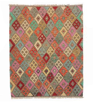 KELIMSHOP kelim kleed 194x154 cm vloerkleed tapijt kelims hand geweven