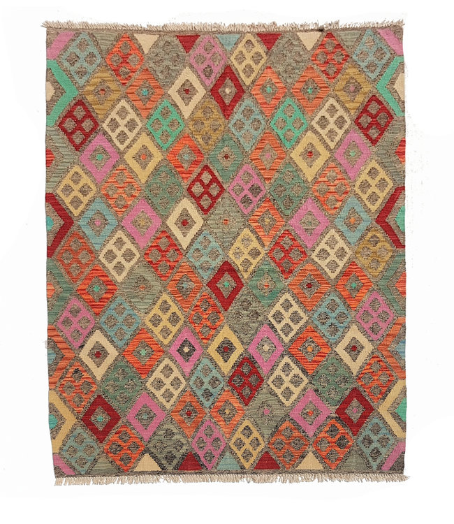kelim kleed 194x154 cm vloerkleed tapijt kelims hand geweven