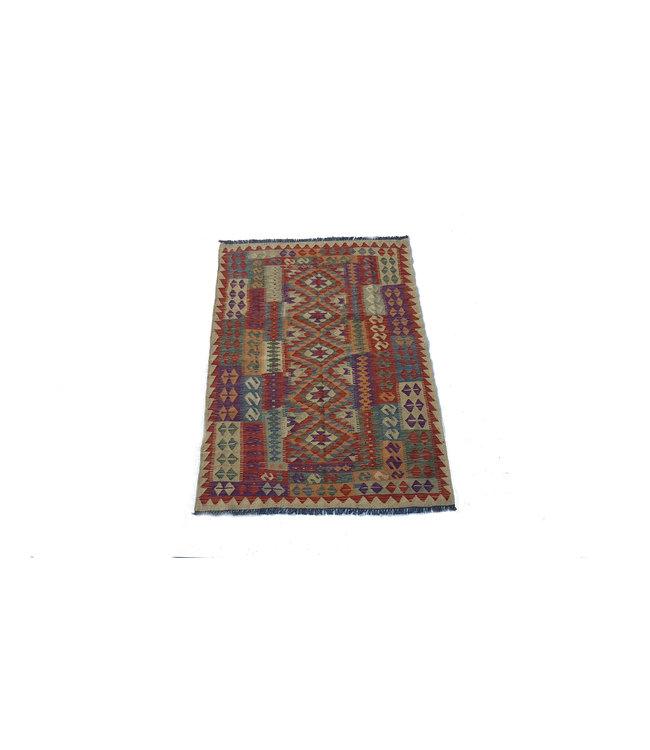 kelim kleed    181x128 cm vloerkleed tapijt kelims hand geweven
