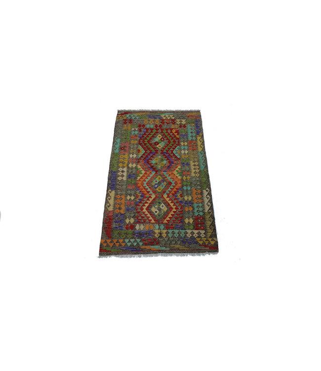 kelim kleed   184x111cm vloerkleed tapijt kelims hand geweven