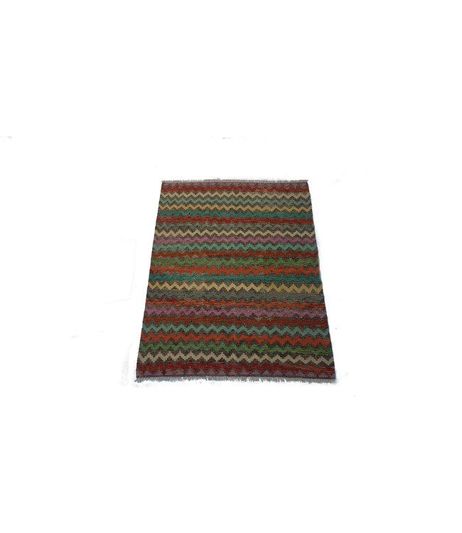 kelim kleed   199 x152 cm  vloerkleed tapijt kelims hand geweven