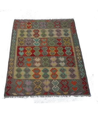 KELIMSHOP kelim kleed 197x157 cm vloerkleed tapijt kelims hand geweven
