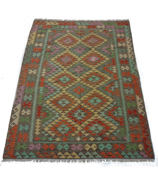 KELIMSHOP kelim kleed 242x170 cm vloerkleed tapijt kelims hand geweven