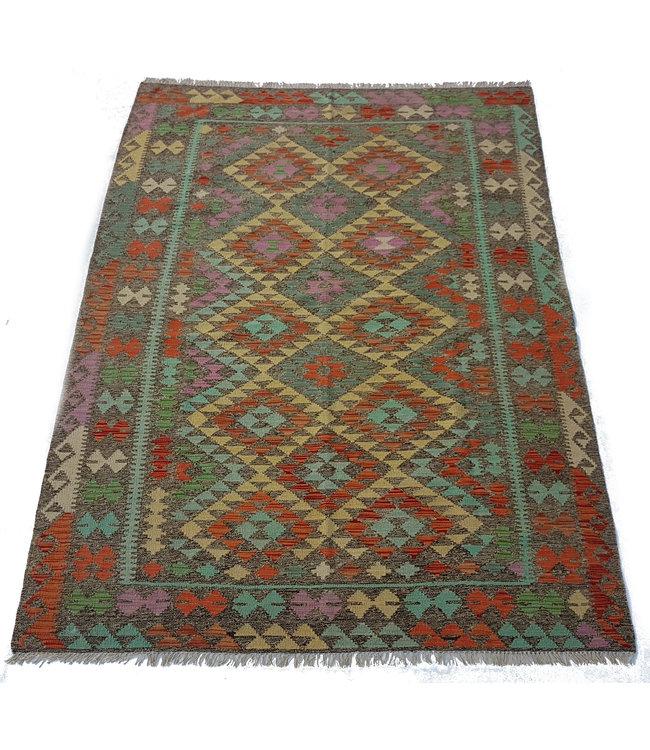 kelim kleed    242x170 cm  vloerkleed tapijt kelims hand geweven