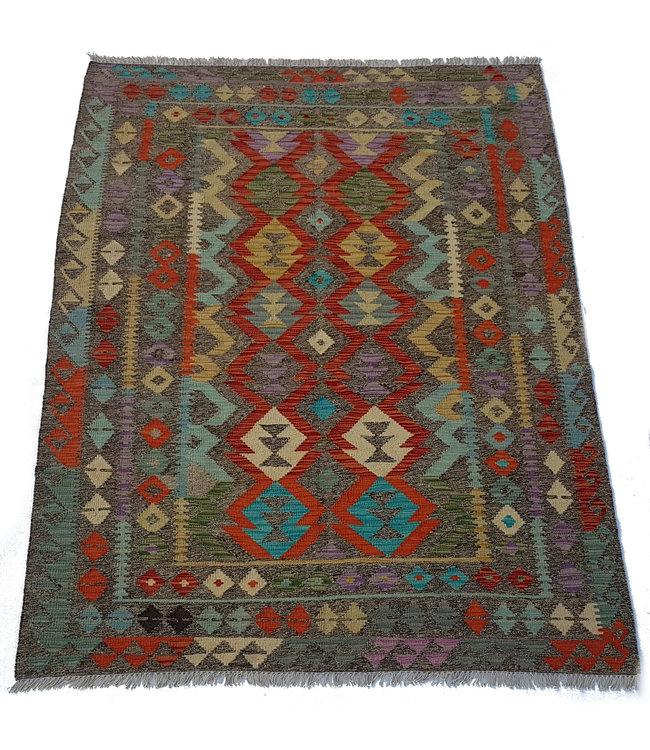 kelim kleed    205x152 cm  vloerkleed tapijt kelims hand geweven