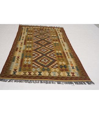 KELIMSHOP kelim kleed 107x104  cm vloerkleed tapijt kelims hand geweven