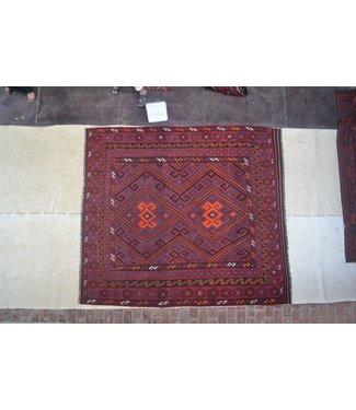 modern kelim kleed 293 X 263 cm vloerkleed tapijt kelims hand geweven