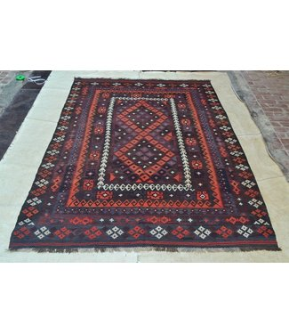 modern kelim kleed 340 x 201 cm vloerkleed tapijt kelims hand geweven