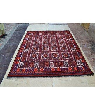 modern kelim kleed 303 x 244 cm vloerkleed tapijt kelims hand geweven