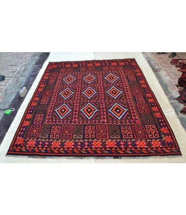 kelim 306 x 234 cm vloerkleed tapijt kelims hand geweven
