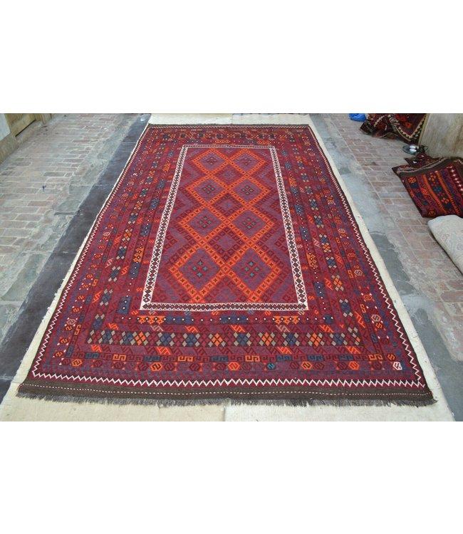 kelim 468 x 258 cm vloerkleed tapijt kelims hand geweven