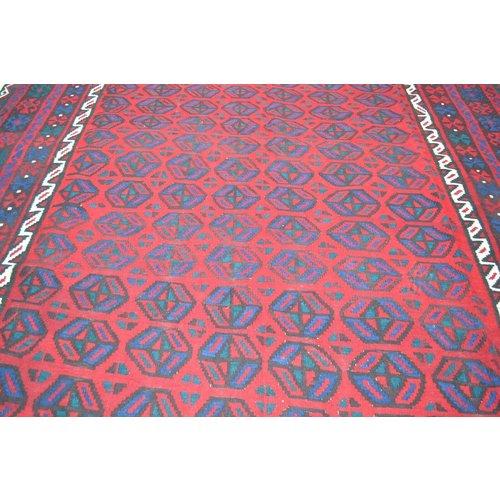 kelim  410 x 245 cm vloerkleed tapijt kelims hand geweven