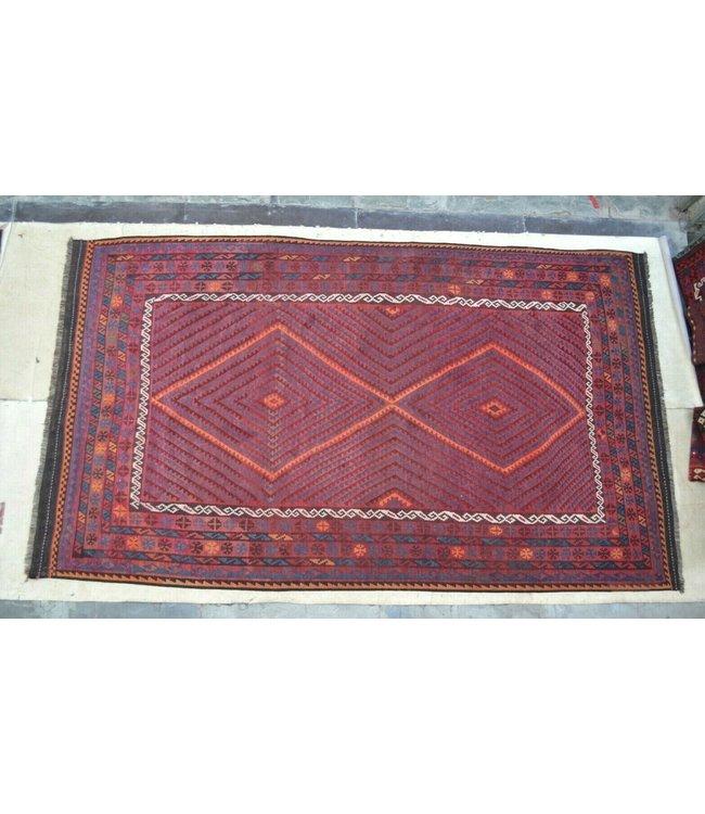 kelim   435 x 250 cm vloerkleed tapijt kelims hand geweven
