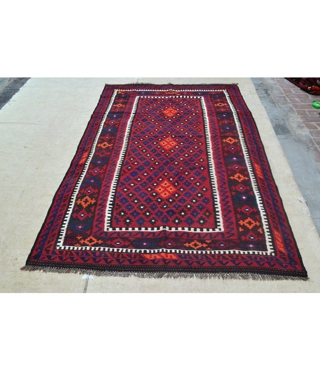 kelim 243 x 155 cm  vloerkleed tapijt kelims hand geweven