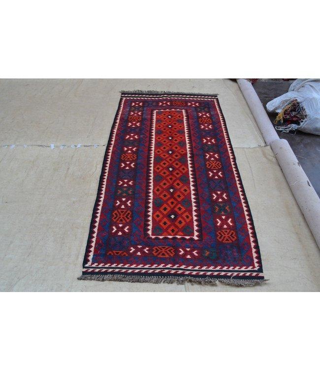 kelim 204 x 100 cm   vloerkleed tapijt kelims hand geweven