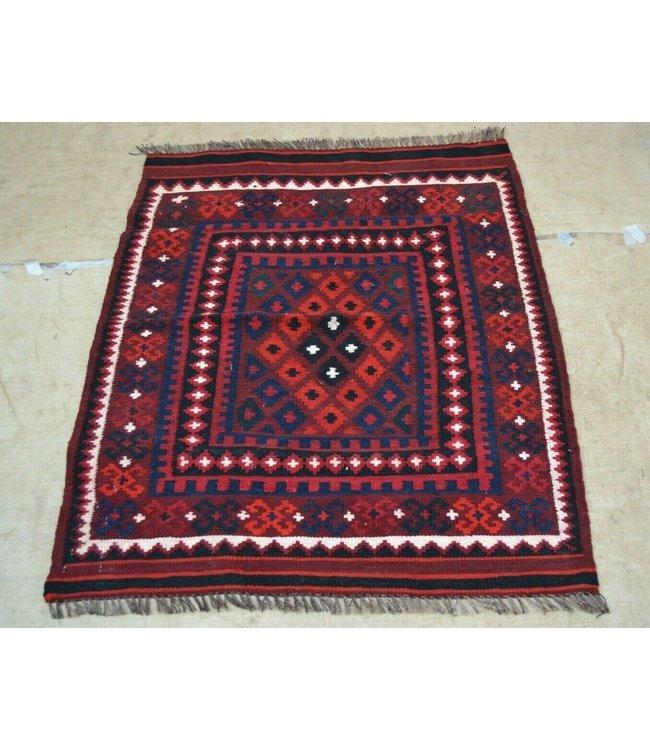 kelim   102 x 82 cm vloerkleed tapijt kelims hand geweven