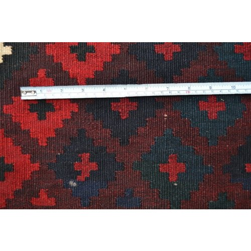 kelim  257 x 113  cm vloerkleed tapijt kelims hand geweven