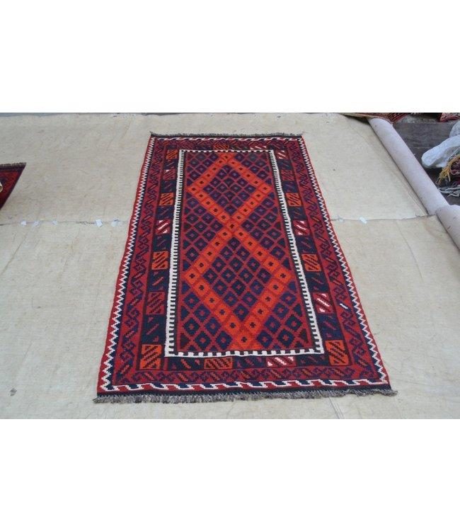 kelim 207 x 104 cm vloerkleed tapijt kelims hand geweven
