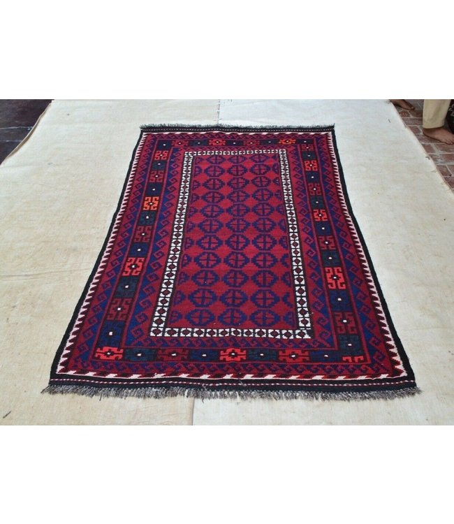 kelim  210 x 124 cm vloerkleed tapijt kelims hand geweven