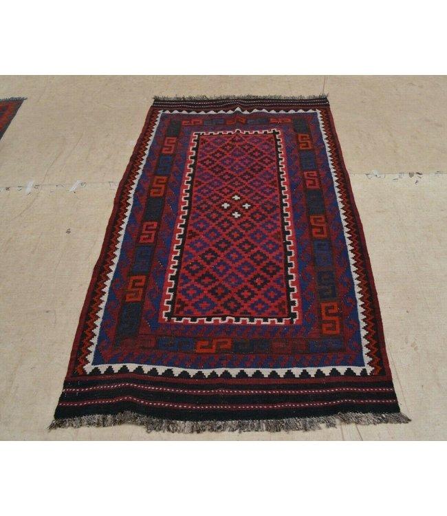 kelim 192 x 108 cm vloerkleed tapijt kelims hand geweven