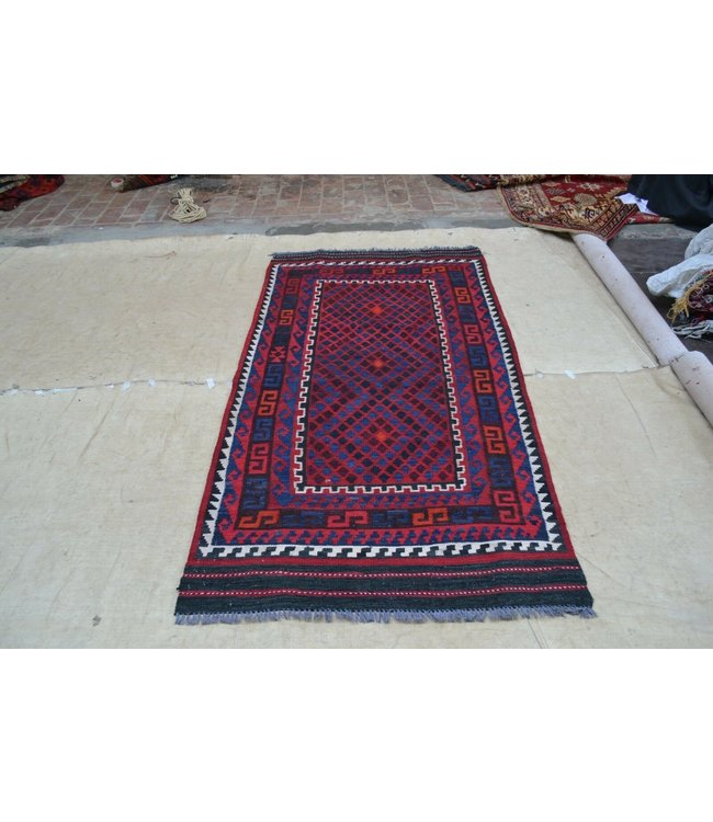 kelim 214 x 108  cm  vloerkleed tapijt kelims hand geweven