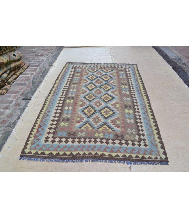 kelim 246 x 162 cm  vloerkleed tapijt kelims hand geweven