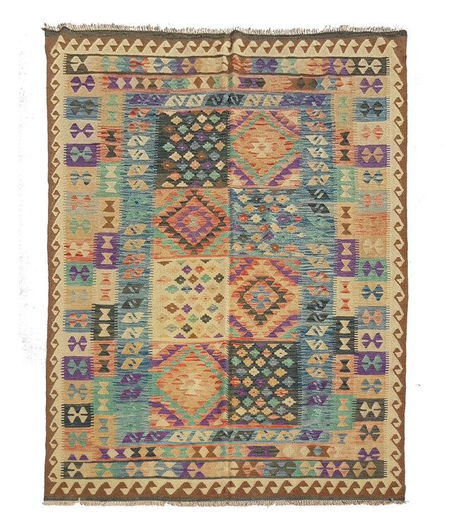 kelim kleed    295x195 cm  vloerkleed tapijt kelims hand geweven
