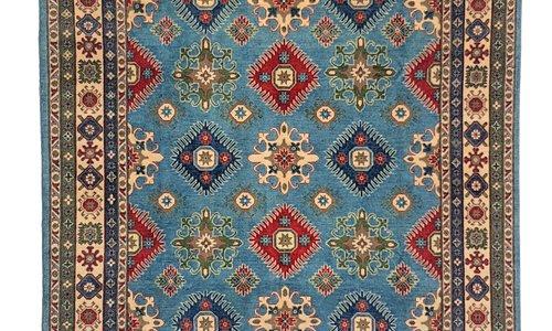 unikat handgeknüpft kazak teppich